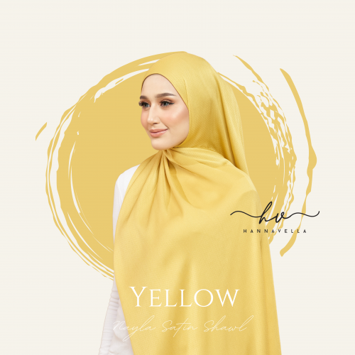 NAYLA SATIN IN YELLOW