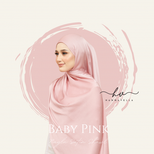 NAYLA SATIN IN BABY PINK