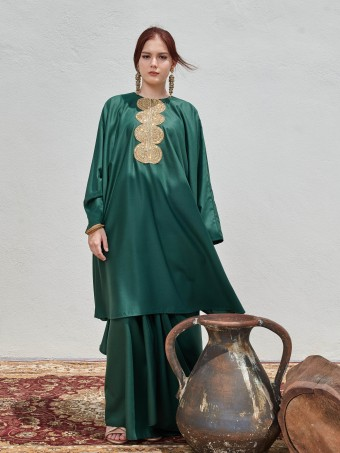 NARAA IN EMERALD GREEN
