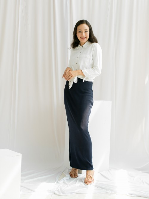 CLOVER SKIRT 5.0 DARK BLUE