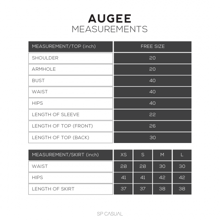 AUGEE IN OFF WHITE