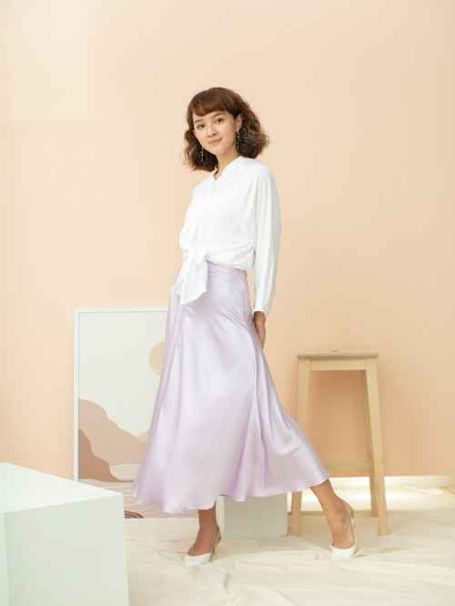 SAY-TEEN SKIRT IN PERSIAN LILAC