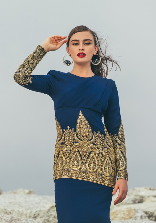 TARANI IN DARK BLUE
