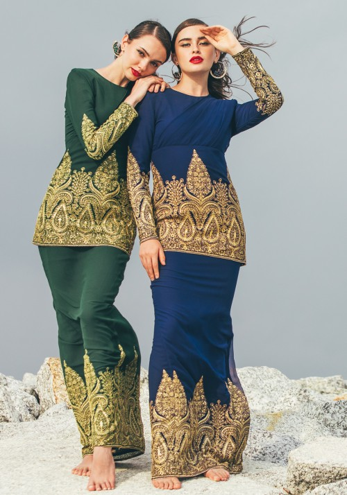 TARANI IN EMERALD GREEN
