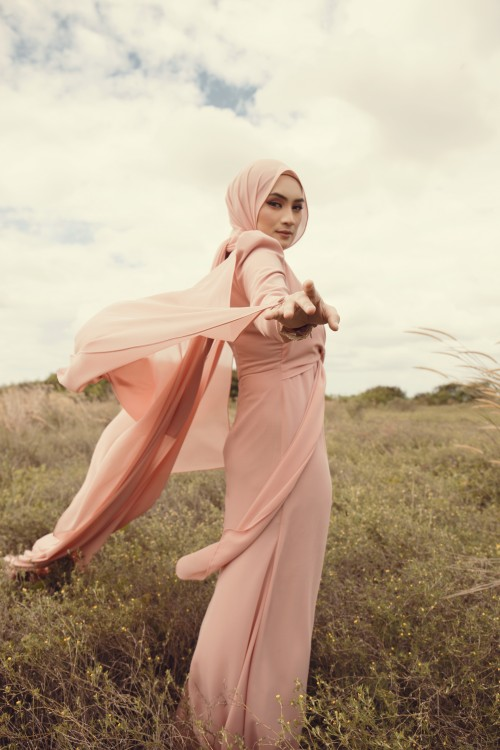 AMEERA IN DUSTY PINK